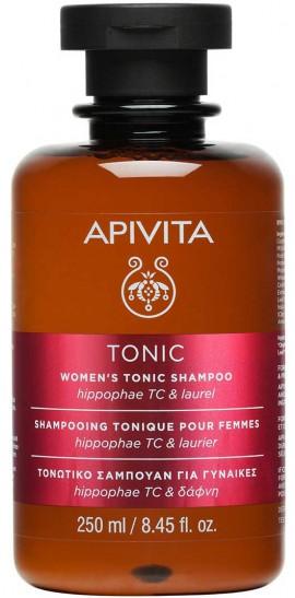 Apivita Womens Tonic Σαμπουάν Για Γυναίκες Με Ιπποφαές & Δάφνη, 250ml