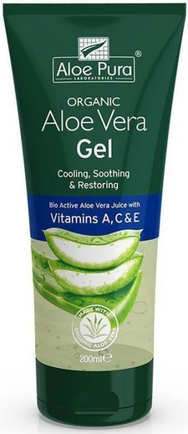 Optima Aloe Vera Gel With A, C & E, 200ml