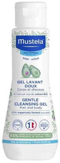 Mustela Gentle Cleansing Gel, 200ml