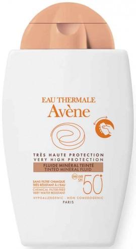 Avene Fluid Mineral Tintee SPF50+, 40ml
