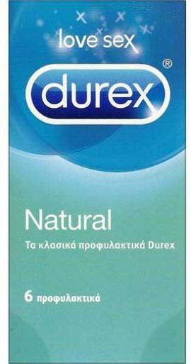 Durex Natural, 6 Τεμάχια