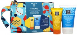 Apivita Suncare Oil Balance SPF30 50ml & Δωρο After Sun  Cooling Cream- Gel, 100ml