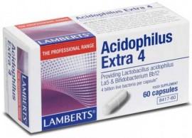 Lamberts Acidophilus Extra 4, 60 Κάψουλες