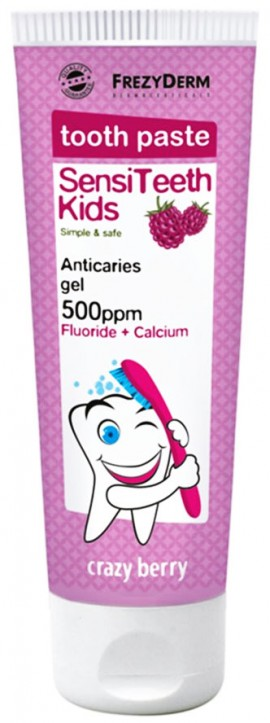 Frezyderm Sensiteeth Kids Toothpaste 500ppm, 50ml