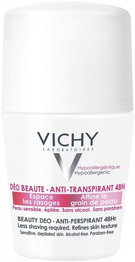 Vichy Deodorant Ideal Finish 48H, 50ml