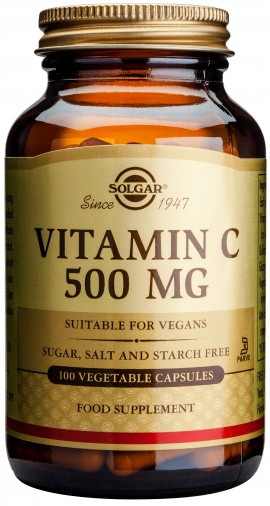 Solgar Vitamin C500mg,100 Κάψουλες