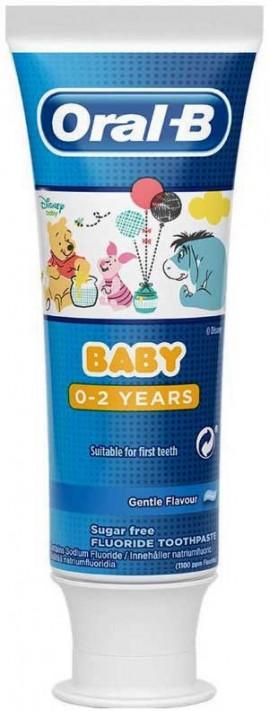 Oral-B Οδοντόκρεμα Baby Disney Winnie The Pooh, 75ml