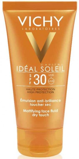 Vichy Ideal Soleil Mattifying Face Fluid Dry Touch SPF30, 50ml