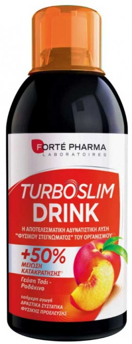 Forte Pharma Turboslim Πράσινο Τσάι  Γεύση Ροδάκινο 500ml
