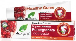 Dr. Organic Pomegranate Toothpaste, 100ml