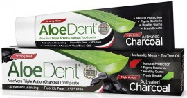 Optima AloeDent Charcoal Toothpaste, 100ml