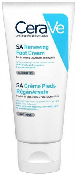 CeraVe SA Renewing Foot Cream, 88ml