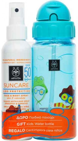 Apivita Promo Sun Care Kids Protection SPF50, 150ml + Δώρο Παιδικό Παγούρι