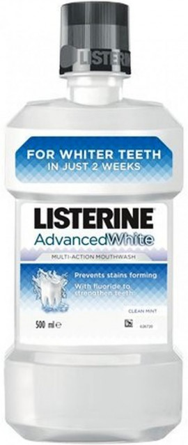 Listerine Advanced White, 500ml
