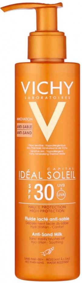 Vichy Ideal Soleil Anti Sand Milk SPF30, 200ml