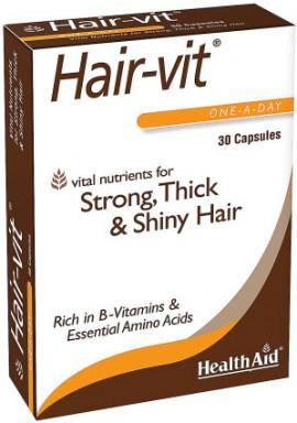 Health Aid Hairvit, 30 Κάψουλες