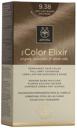 Apivita My Color Elixir 9.38 Ξανό Πολύ Ανοιχτό Μελί Περλέ