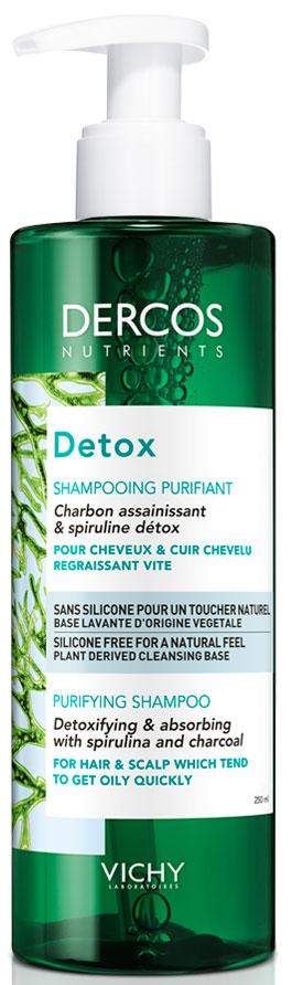 Vichy Dercos Nutrients Detox Shampoo, 250ml