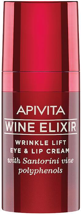 Apivita Wine Elixir Eye & Lip Cream, 15ml