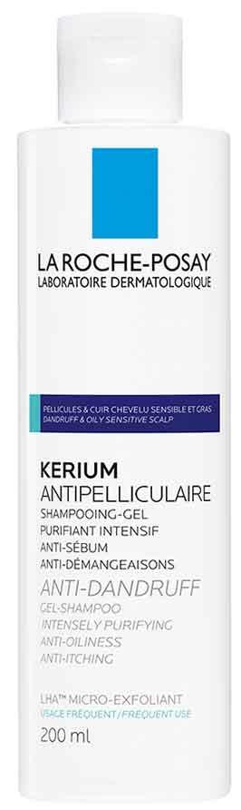 La Roche- Posay Kerium Anti-Dandruff Gel Shampoo, 200ml
