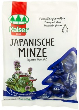 Kaiser Καραμέλες Με Έλαιο Ιαπωνικής Μέντας, 75gr