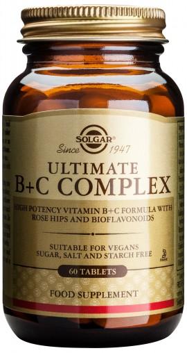 Solgar Ultimate B+C Complex, 60 Ταμπλέτες