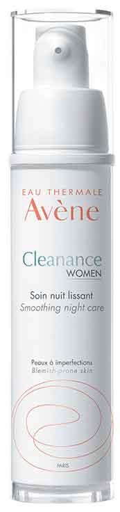 Avene Cleanance Women Smoothing Night Cream, 30ml