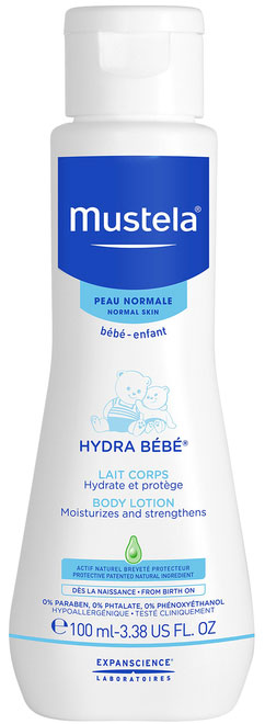 Mustela Hydra Bebe Body Lotion, 100ml
