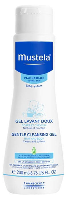 Mustela Gentle Cleansing Gel, 200ml