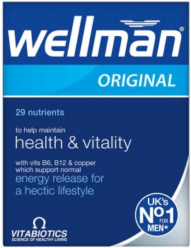 Vitabiotics Wellman Original, 30 Ταμπλέτες