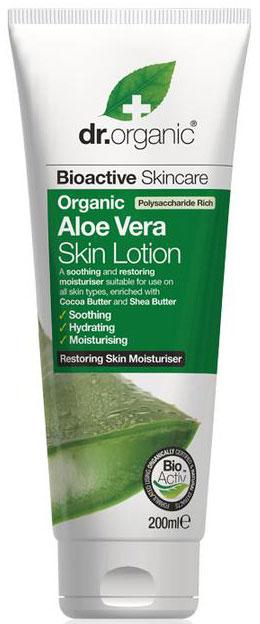 Dr. Organic Aloe Vera Skin Lotion, 250ml