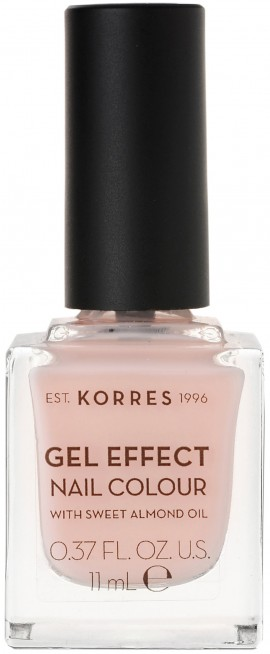 Korres Gel Effect Nail Color 04 Peony Pink, 11ml