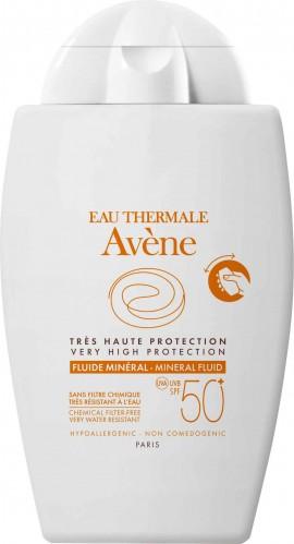 Avene Fluid Mineral SPF50+, 40ml
