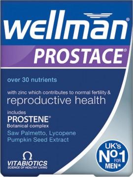 Vitabiotics Wellman Prostace, 60 Ταμπλέτες