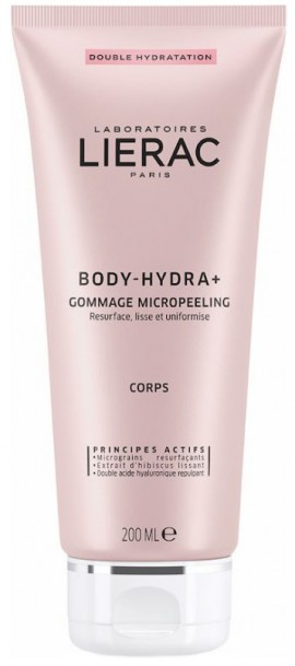 Lierac Body Hydra+ Gommage Micropeeling Corps, 200ml