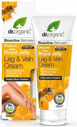 Dr. Organic Royal Jelly Leg & Vein Cream, 200ml