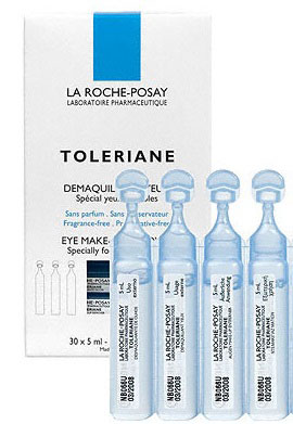 La Roche- Posay Toleriane Ultra Demaquillant Yeux, 30x 5ml