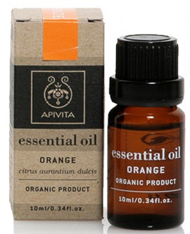 Apivita Essential Oil Πορτοκάλι, 10ml
