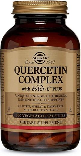 Solgar Quercetin Complex  With Ester-C Plus, 100 Κάψουλες