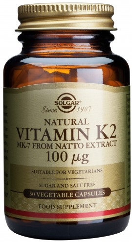 Solgar Vitamin K2 100mg, 50 Κάψουλες