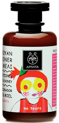 Apivita Κιds Σαμπουάν & Conditioner Με Μέλι & Ρόδι,250ml