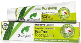 Dr. Organic Tea Tree Toothpaste, 100ml