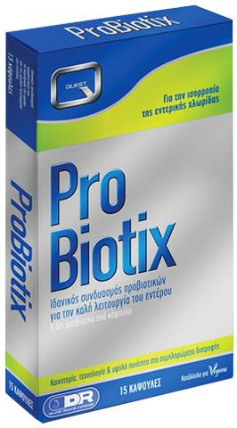 Quest Probiotix ,15 Κάψουλες