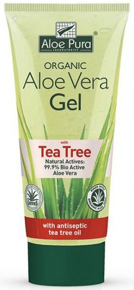 Optima Aloe Vera Gel With Tea Tree, 200ml