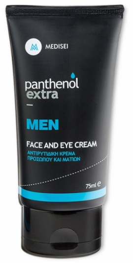Medisei Panthenol Extra Men Face & Eyes Cream, 75ml