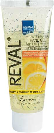 Intermed Reval Hand Gel Άρωμα Λεμόνι, 30ml