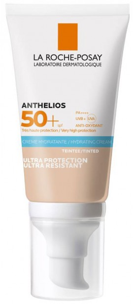 La Roche- Posay Anthelios Ultra Cream SPF50+ Με Χρώμα, 50ml