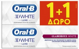 Oral-B 3D White Luxe, 2x75ml