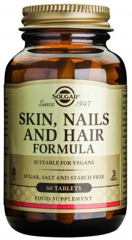 Solgar Skin, Nail & Hair Formula, 60 Ταμπλέτες