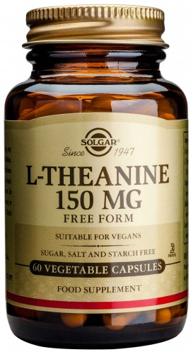 Solgar L- Theanine 150mg, 60 Κάψουλες